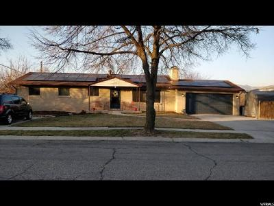 Salt Lake City Single Family Home For Sale: 1007 E Perrywill Ave S