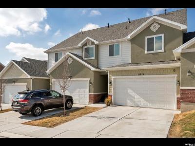 Riverton Townhouse For Sale: 11818 S Cedar Valley Dr