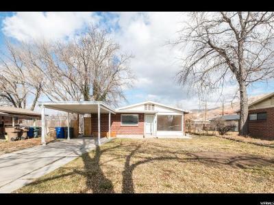 Salt Lake City Single Family Home For Sale: 984 W 1200 N