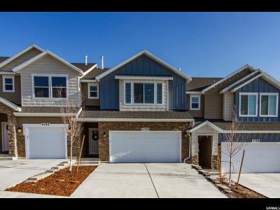 Lehi Townhouse For Sale: 4190 N Cresthaven Ln