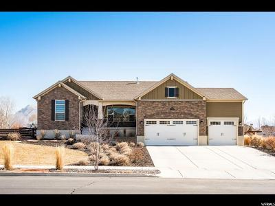 American Fork Single Family Home For Sale: 976 N Lakota Rd W