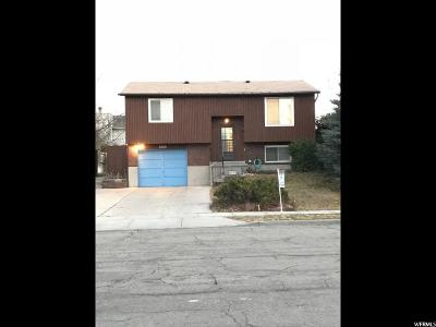 Taylorsville Single Family Home For Sale: 3295 W 5620 S