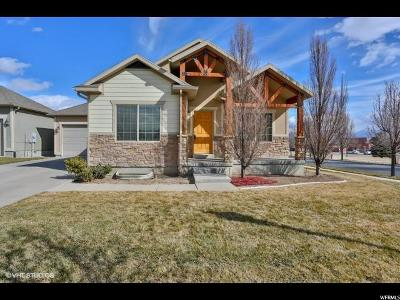 West Jordan Single Family Home For Sale: 5252 W Icehouse Way