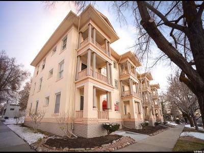 Salt Lake City Condo For Sale: 101 S 600 E #5