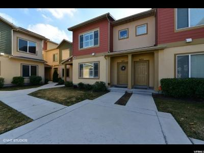 South Jordan Townhouse For Sale: 3691 Lilac Heights Dr S