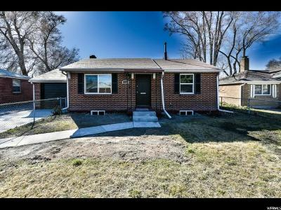 Salt Lake City UT Single Family Home For Sale: $249,000