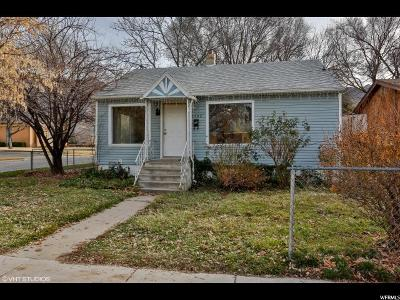 Ogden Single Family Home For Sale: 1502 Liberty Ave