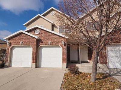 South Jordan Townhouse For Sale: 10424 S Sage Creek Rd