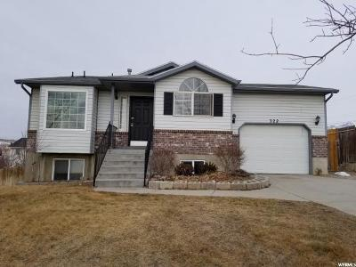 Lehi Single Family Home For Sale: 322 W 2375 N