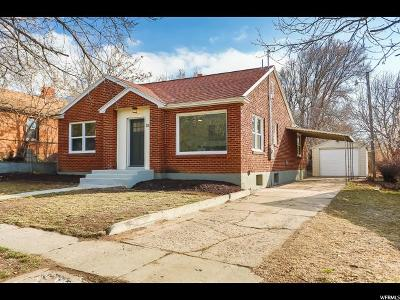 Ogden Single Family Home For Sale: 1077 E 20th St S