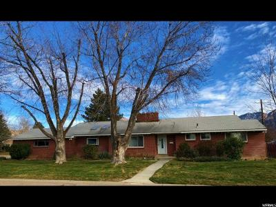 Salt Lake City Single Family Home For Sale: 3791 S 1860 E