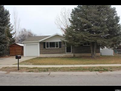 West Jordan Single Family Home For Sale: 7629 S Uranium Dr W