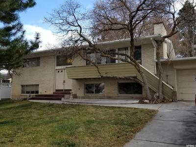 Ogden Single Family Home For Sale: 703 E Ben Lomond Ave