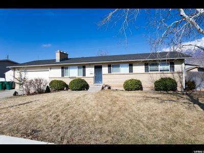 Orem Single Family Home For Sale: 681 E 600 N