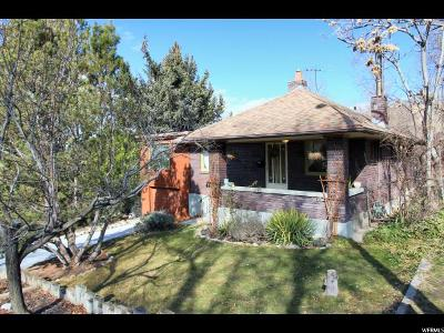 Salt Lake City Single Family Home For Sale: 34 W Zane Ave N