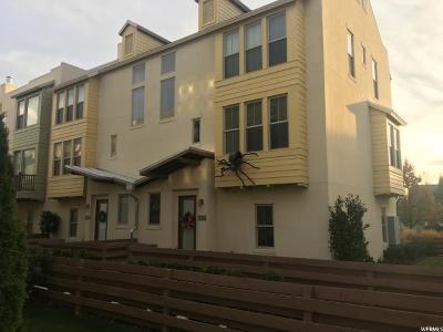 South Jordan Townhouse For Sale: 4869 W Okanogan Ln