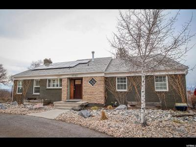 Salt Lake County Single Family Home For Sale: 3720 S Forest Hills Dr E