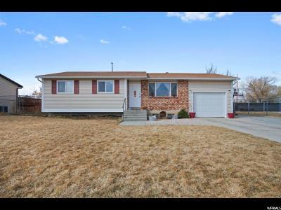 West Jordan Single Family Home For Sale: 7658 S Frodo Ave W