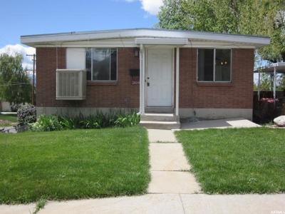Salt Lake City Multi Family Home For Sale: 2834 S McClelland St