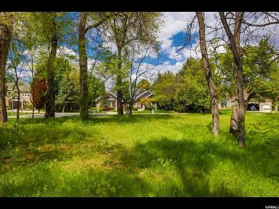 Salt Lake City Residential Lots & Land For Sale: 1804 E Vintage Oak Ln