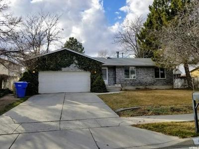Taylorsville Single Family Home For Sale: 4818 Desert Dusk Rd