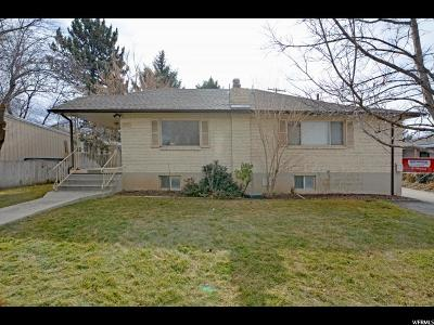 Salt Lake City Single Family Home For Sale: 2078 E Ashton Cir S