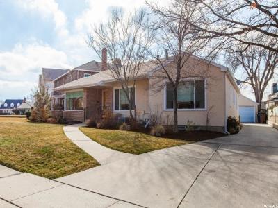 Salt Lake City UT Single Family Home For Sale: $729,000