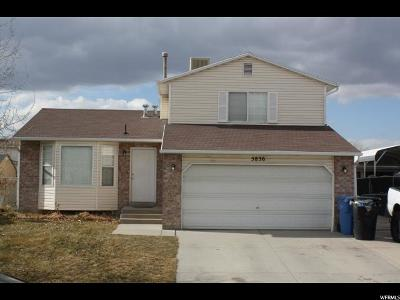 Taylorsville Single Family Home For Sale: 5836 S 3230 W