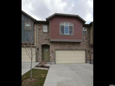 Davis County Townhouse For Sale: 166 E Orchard Pines Loop #39 S