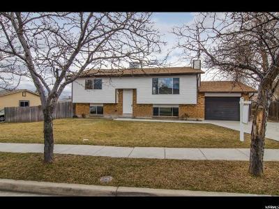 West Jordan Single Family Home For Sale: 5117 W Cyclamen Way S