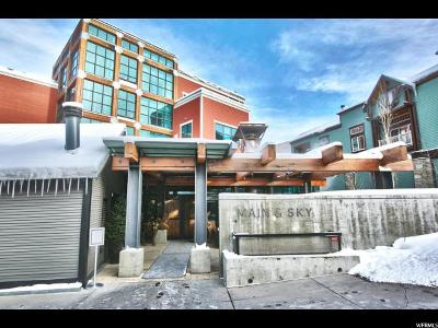 Park City Condo For Sale: 201 Heber Ave #401/50