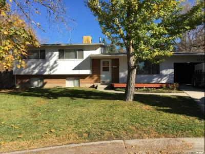 Salt Lake City Single Family Home For Sale: 5080 S Southmoor Cir