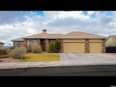 St. George Single Family Home For Sale: 2934 S Circle Ridge Dr