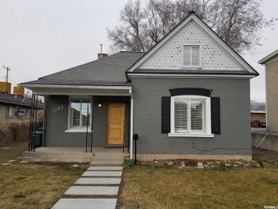 Salt Lake City UT Single Family Home For Sale: $334,900