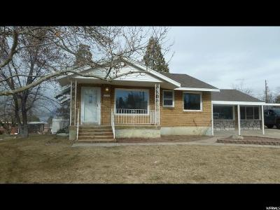 Weber County Single Family Home For Sale: 2120 W 3900 S