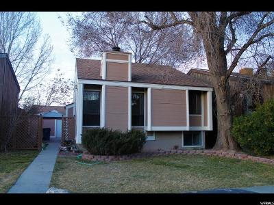 Taylorsville Single Family Home For Sale: 2420 W Hardrock Dr