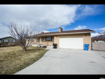 Orem Single Family Home For Sale: 758 W 1700 N