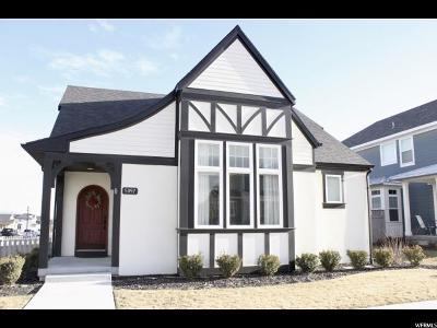South Jordan Single Family Home For Sale: 5097 W Dock St