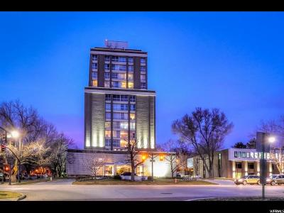 Salt Lake City Condo For Sale: 777 E South Temple S #14 F