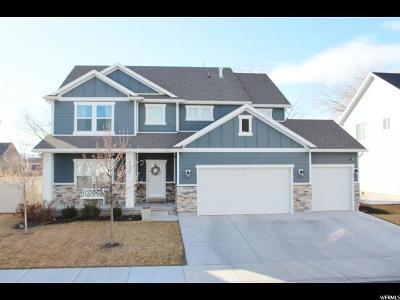 Lehi Single Family Home For Sale: 1852 S 900 E