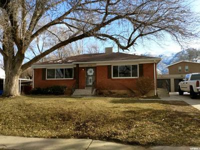 Weber County Single Family Home For Sale: 3376 S Monroe