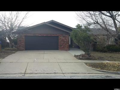Davis County Single Family Home For Sale: 611 E Chelsea Dr S