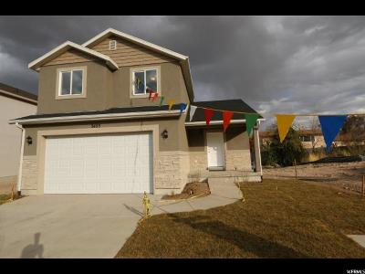 Magna Single Family Home For Sale: 3463 S Melanie Cv W #LOT 3