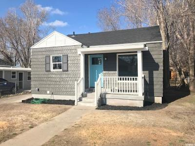 Salt Lake County Single Family Home For Sale: 333 E Coatsville Ave