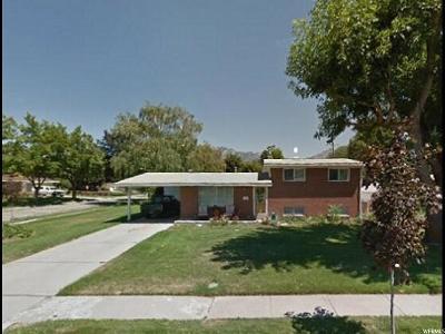 Murray Single Family Home For Sale: 6233 S 340 E