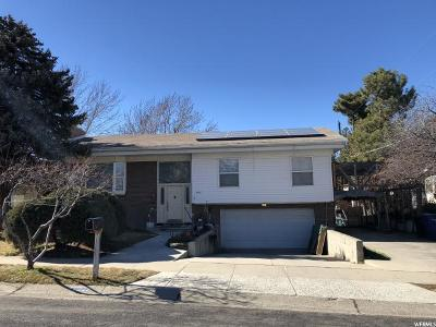 Cottonwood Heights Single Family Home For Sale: 7082 S Ponderosa Dr E
