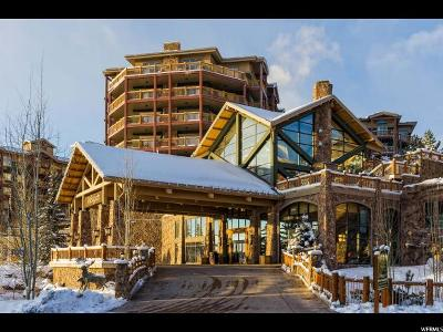 Park City Condo For Sale: 3000 Canyons Resort Drive #4307