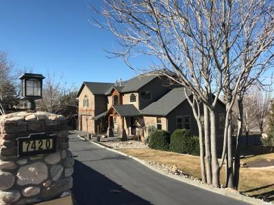 Cottonwood Heights Single Family Home For Sale: 7420 S Butler Hills Dr