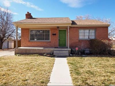 Orem Single Family Home For Sale: 937 N 200 E