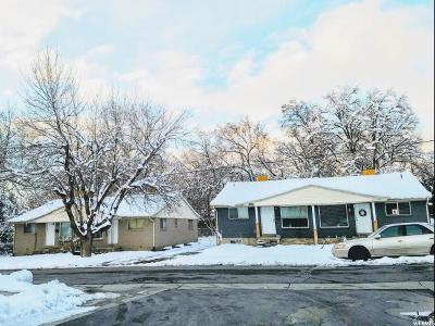 Salt Lake City UT Multi Family Home For Sale: $890,000